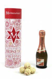 Montezuma's Valentine's sparkling and truffles 2