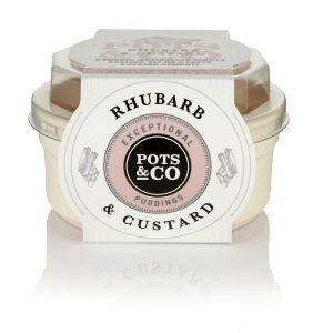 Rhubarb & Custard Pot