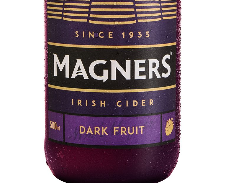 Magners Dark Fruit Now Available In Glass Bottles